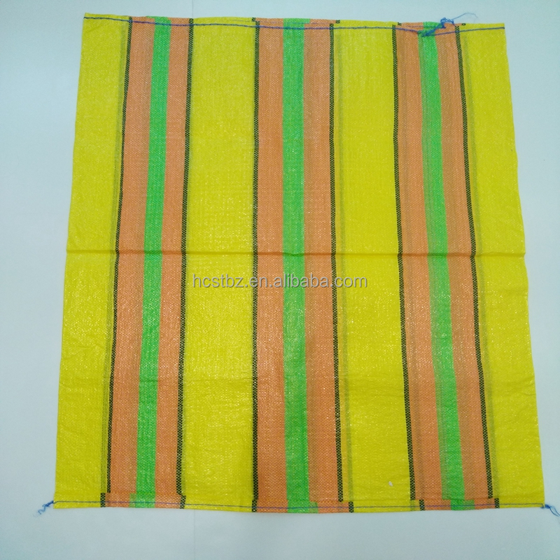 color woven PP shopping bag raffia to South America