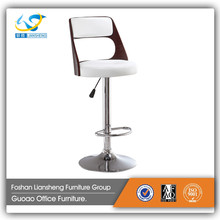commercial PU seat revolving bar stool
