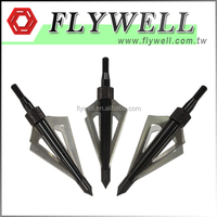 Archery 4 Blades Arrows Point Hunting Metal Arrow Head