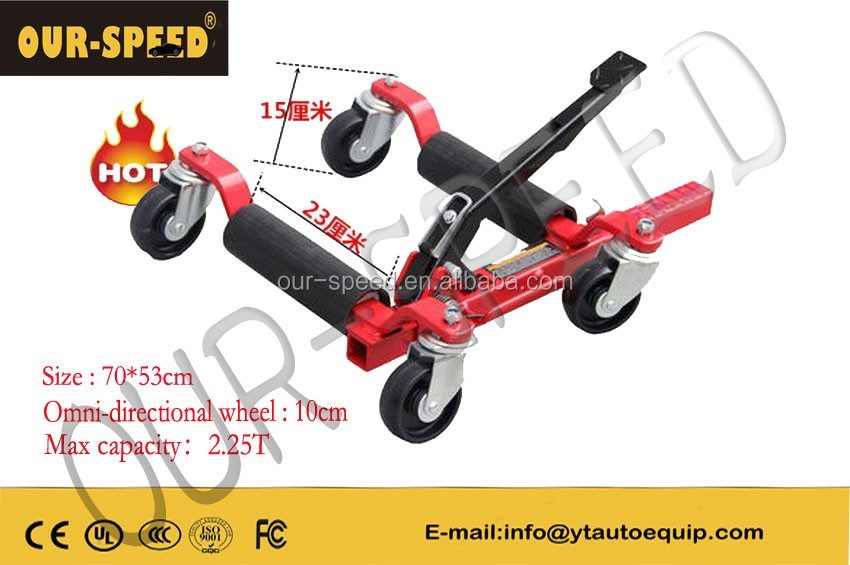 OUR-SPEED Hydraulic Positioning Jacks Motorcycle/Vehicle Mover