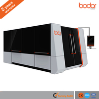 Cover Shuttle Table Fiber Laser Metal Cutting machine with 2 years warranty