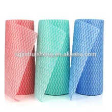 kitchen cleaning magic cleaning wipes/spunlace nonwoven cloth roll