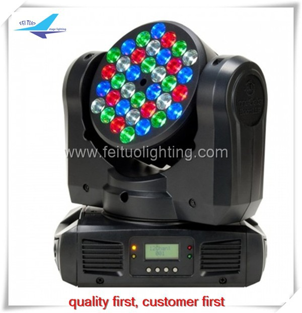 Free shipping (16 pieces) 36x3w rgbw <strong>beam</strong> moving head, sharpy <strong>beam</strong>