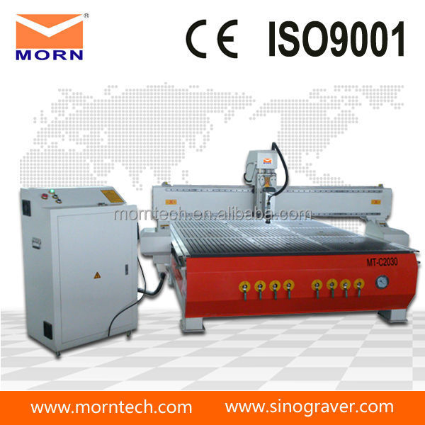 jinan 2030 cnc router machine wood furniture factory equipment with vacuum table