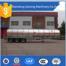 Tri-axles truck bulk powder tank semi trailer bulk cement powder tanker semi trailer for Congo for sale