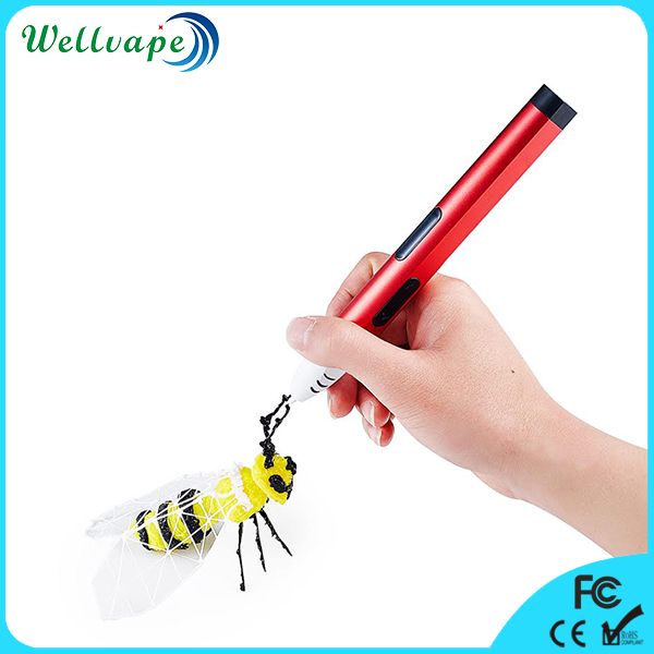 Cheap good quality slim size 5th generation normal temperature drawing pen 3d printer