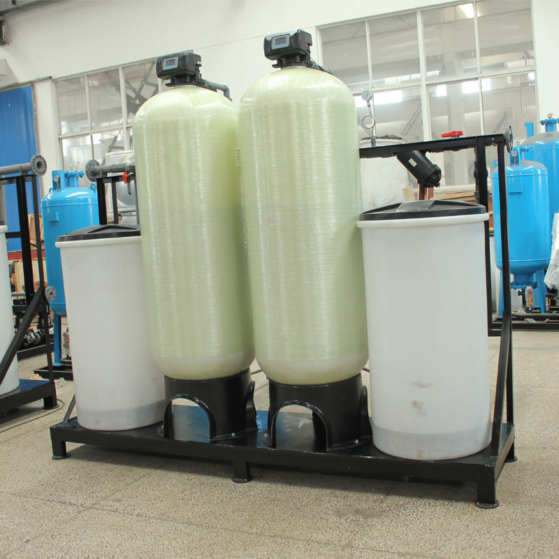Industrial Twin Alternating Boiler Water Softening Ion Exchange Resin Water Softener