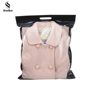 Custom Made Nylon Storage Bag Clothes Vacuum Plastic Pack Compression Bag For Clothing