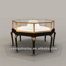 Latest Elegant Jewelry Glass Display Table