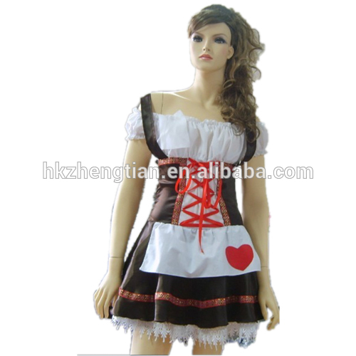 Hot walson China instyles 2015 disfraz clothes Ladies Beer Maid Wench Costume Oktoberfest Womens Party Costume beer maid out