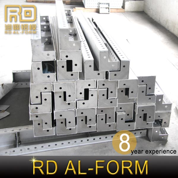 Ruding architect guide template strive for perfection aluminum formwork system Wedge Pin or wedge bolt