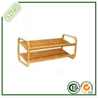 SINO 2-Tier Ikea Bamboo Shoes Shelf For 2015 Year