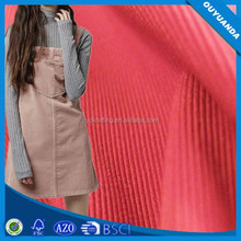 Stripe Tricot Corduroy Fabric for Fashion Cloth/Dress/Trousers/Sofa/Curtain