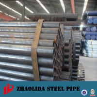 api pipes ! epoxy coal tar / asphalt coating steel pipe astm a252 erw steel pipes