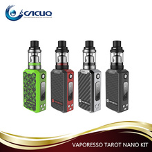 New Products e cigarette 2500mAh 2ml 80W Vaporesso Tarot Nano Kit