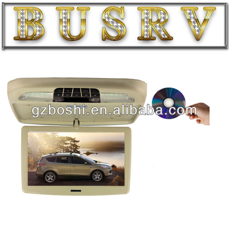 2013 New Hot Model 12 Inch Super Slim car roof dvd player