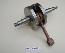 chinese motorcycle parts Engine parts AX100 crankshaft