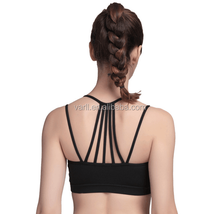 OEM Fitness Underwear for Sexy Ladies Wholesale Elastic Strap Yoga Sports Bra