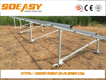solar pv tracking system and home solar panel pole mounting system with high value or 100 kw solar system