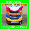 2013 High Quality New Color Cozy Soft Warm Pet Bed House Sofa Kennel For Dog & Cat