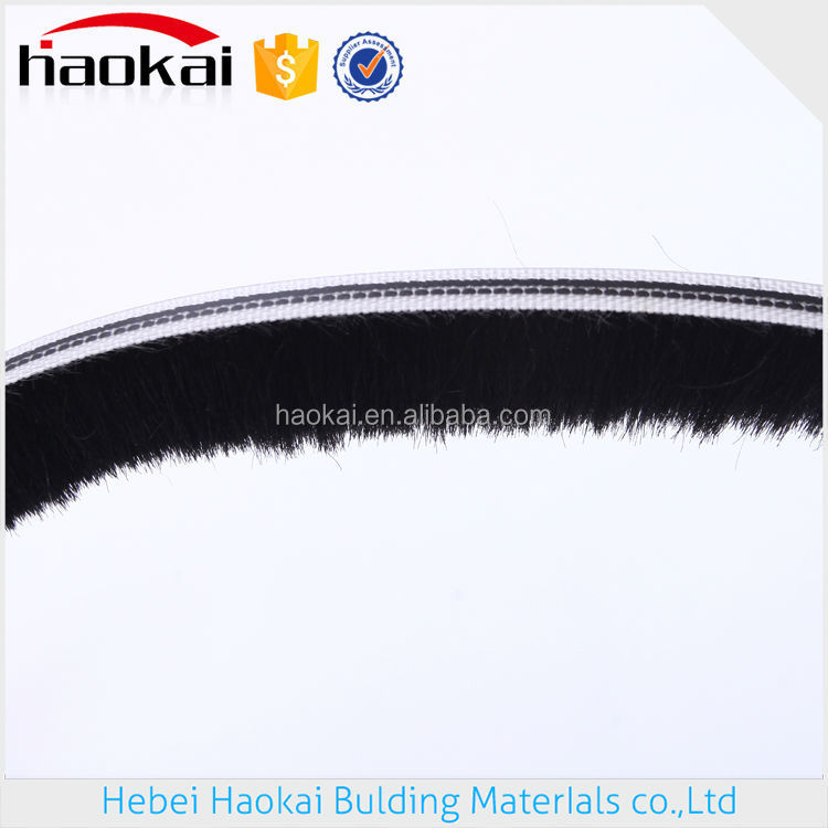 siliconized window cleaning brush,sliding door weather stripping