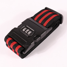Travel Luggage Suitcase Strap Baggage Backpack Belt with Coded Lock