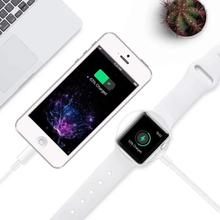Wireless Charger for Apple Watch Series <strong>1</strong> 2 3 4 USB Magnetic Charging Cable 3.3 feet/1meter for iPhone 7 8 <strong>X</strong> Max
