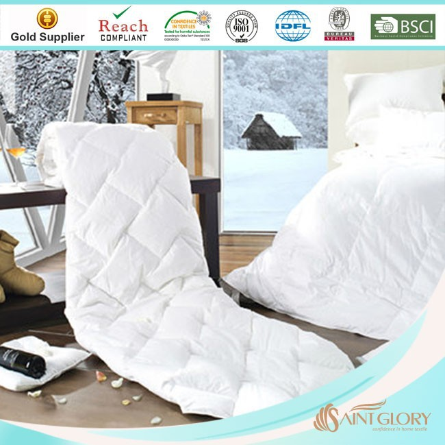cheap summer polyester filling thin comforter