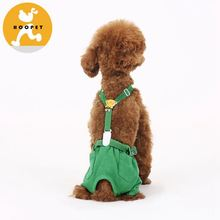 Green sanitary pant pet clothing dog clothes