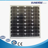china factory monocrystalline 40w solar cell price