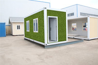 insulated demountable movable panel 20ft containers shipping mobile prefab building for Algeria
