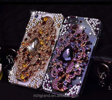 For Various Mobile Phone Unique Bling Luxury Crystal Sparkly Rhinestone Gem Case