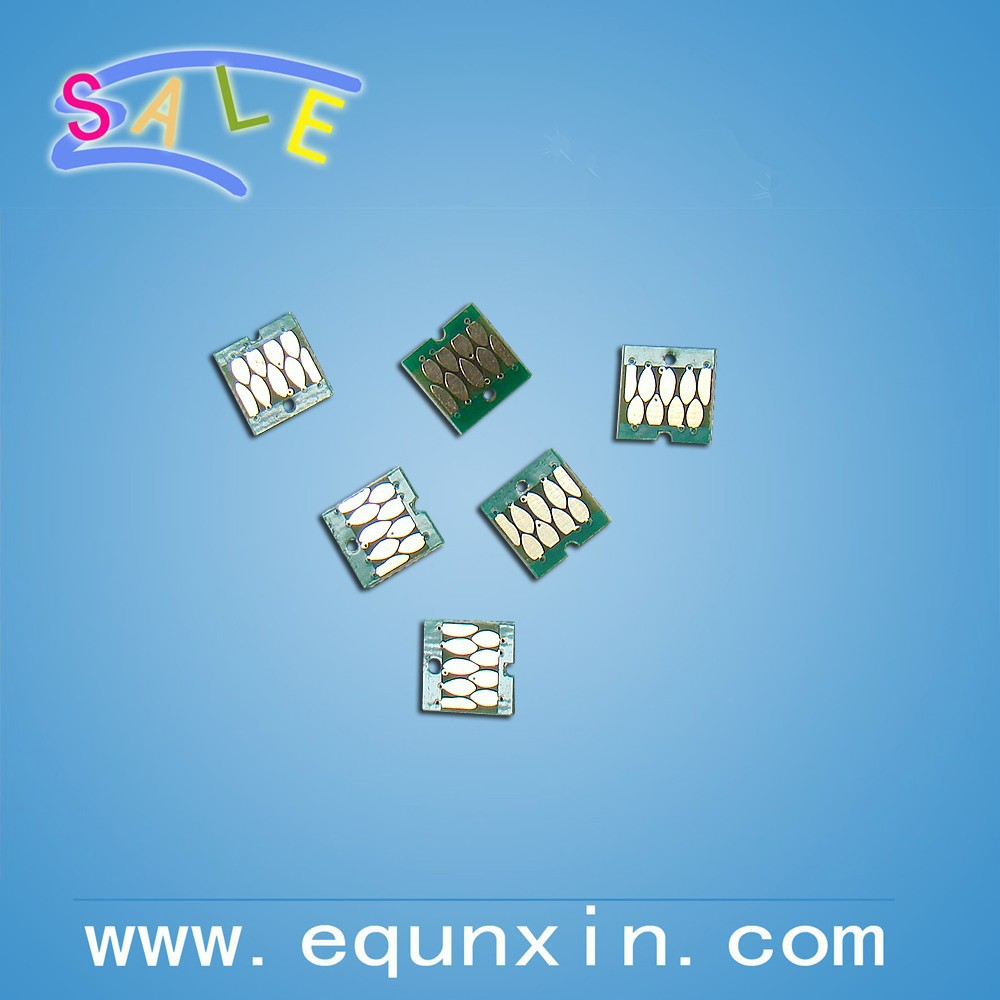 New compatible chip for Epson Surecolor D700 cartridge chip T7821-T7826 one time chip OEM size