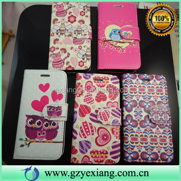HOT PU Leather Custom Printed Phone Case For LG Stylo LS770 Back Cover