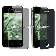 For iPhone 4 4S Anti-SPY Privacy Screen Protector/Protection Film