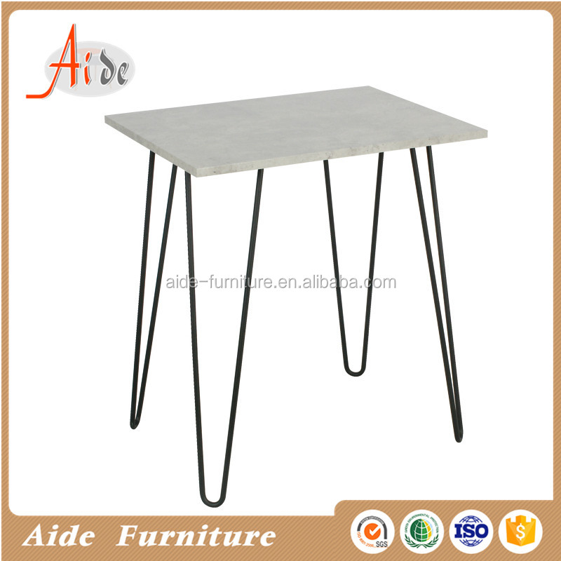 mdf top metal leg study table for home hot sale work desk