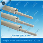 china zhejiang manufacture AS NZS2053 grey MD PVC conduit 16mm-150mm, Australian standard electrical UPVC cable pipe 16mm-150mm