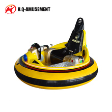 Hot !!! 2017 new high quality amusement battery spaceship bumper car with imported inflatable rubber for sale