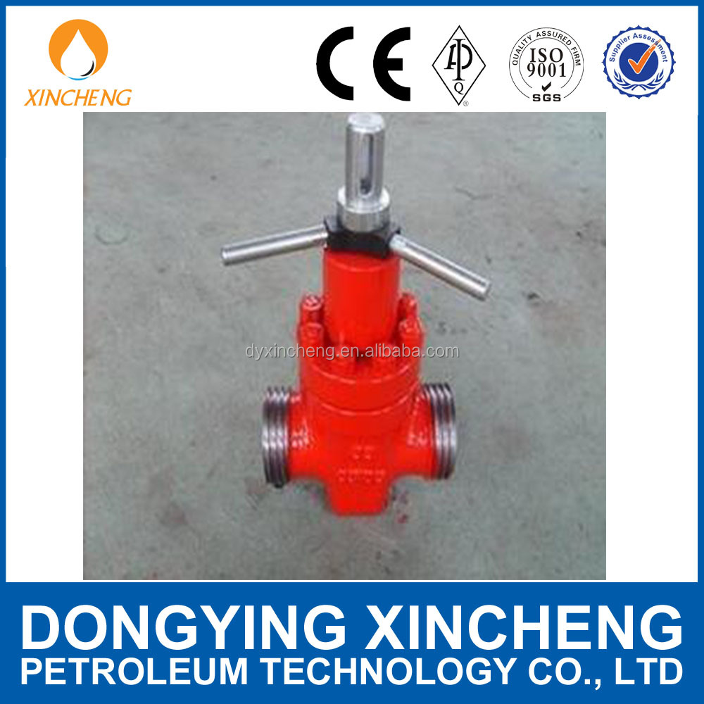 Best price API Rising Stem Mud Gate Valve for wellhead