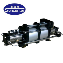 Suncenter 10 bar-800 bar range high pressure air driven gas booster