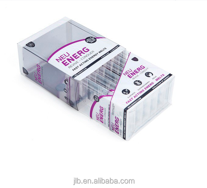 Custom made clear PVC/PET/PP plastic box