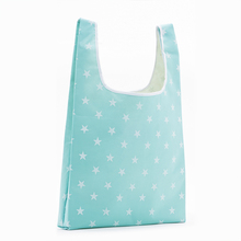 Customized Durable Supermarket Riptop Folding Shopping Bag foldable shopping bag hessian tote reusable bags