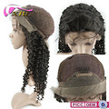 New Arrival Brazilian Human Hair Extensions Curly Wig With Bangs