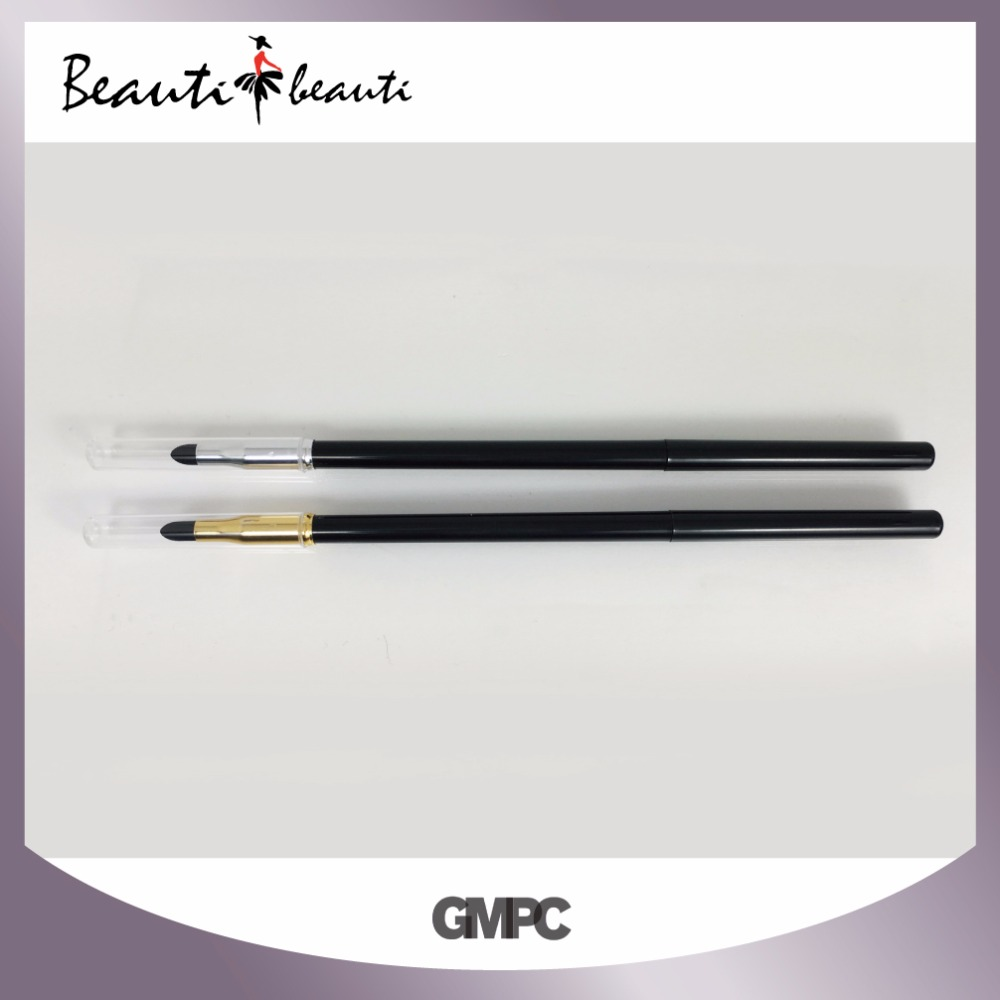 Good quality Waterproof Gel Eyeliner Pen with sponge head by GMP factory
