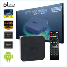 1GB DDR3 RAM 8GB NAND ROM Android 4.4 mqs tv box Cheap Price tv tuner box for lcd monitor
