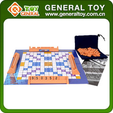 Scrabble Board Game/Paper Jigsaw Puzzle/Jigsaw Puzzle Mat