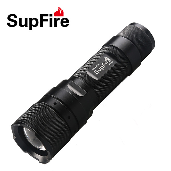 Zoomable CREE XML Pistol Flashlight
