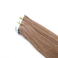 Best Selling 4cm by 1cm Pu Wefts Brazilian Virgin Human Hair 2.5g Tape Extension