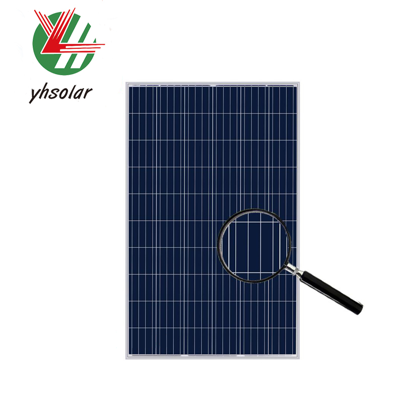 Best price per watt solar panels 265w transparent solar panel in dubai
