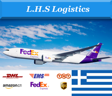 Professional express DHL/TNT/UPS/FEDEX/EMS/ARAMEX freight forwarder from China to Greece